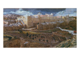 The Temple of Herod in Our Lord's Time, C.1886-96 Giclee Print by James Tissot