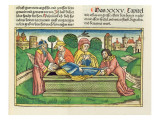 2 Chronicles 35 24 Burial of Josiah, from the 'Nuremberg Bible Giclee Print by  German School