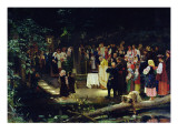 Feast of the Transfiguration of Our Lord in Ukraine Giclee Print by Nikolai K. Bodarevski