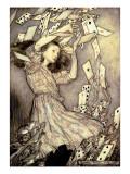 Arthur Rackham - Illustration from 'Alice's Adventures in Wonderland' by Lewis Carroll - Giclee Baskı