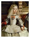 Las Meninas or the Family of Philip Iv, C.1656 Giclée-Druck von Diego Rodriguez de Silva y Velazquez