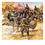 Francisco De Coronado's Expedition into the American West Giclee Print by Ron Embleton