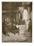 Charles Ii Visiting Wren During the Building of St. Paul's Giclee Print by John Seymour Lucas