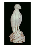 One of a Pair of Large White Meissen Figures of Vultures, C.1731 Giclee Print by J.G. Kirchner