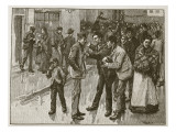 The Preston Strike, Illustration from 'Cassell's Illustrated History of England' Giclee Print by William Rainey