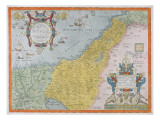 Map of Palestine, from Theatrvm Orbis Terrarvm, 1570 Giclee Print by Abraham Ortelius