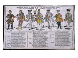 Copy and Discussion of the Nations Currently at War, C.1760 Giclee Print by  German School