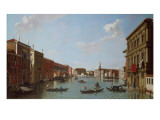 The Grand Canal and San Geremia, Venice, 18th Century Giclee Print by William James