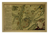 Plan of the Battle of Kunersdorf, August 12Th, 1759, 1759 Giclee Print by  German School