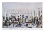 View of the Chemistry Laboratory of Baron Justus Von Liebig Giclee Print by Carl Friedrich Wilhelm Trautschold
