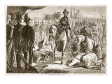 The Surrender of Moolraj, Illustration from 'Cassell's Illustrated History of England' Giclee Print by  English School