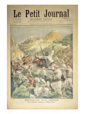 Revolt in India: the English Besieged at Mala-Khan, Front Cover of 'Le Petit Journal' Giclee Print by Oswaldo Tofani