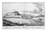 The Southside of the Castle of Edinburgh, from 'Theatrum Scotiae' by John Slezer, 1693 Giclee Print by John Slezer
