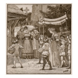 The Wedding of Jack of Newbury: the Bride's Procession Giclee Print by  English School