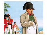 Napoleon Gazing Out at the Ocean from St Helena Premium Giclee Print by John Keay