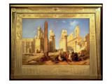 The Ruins of the Palace of Karnak at Thebes, 1856 Giclee Print by Jacob Jacobs