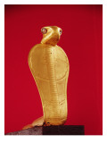 Figure of the Cobra Netjer-Ankh, from the Tomb of Tutankhamun Giclee Print by Egyptian 18th Dynasty