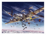 B26 Bomber Flying Fortress (UK Bomber) Premium Giclee Print by Roy Cross