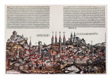 The City of Bamberg, from the 'Liber Chronicarum', by Hartmann Schedel, 1493 Giclee Print by  German School