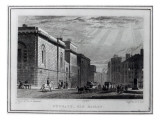 Newgate Prison and the Old Bailey, Engraved by Robert Acon, 1831 Giclee Print by  Shepherd