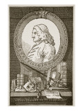 Henry Fielding, Illustration from 'Cassell's Illustrated History of England' Premium Giclee Print by William Hogarth