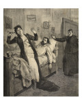 A Love-Story Murder, from 'Le Petit Parisien', 15th November 1891 Giclee Print by Beltrand and Clair-Guyot, E. Dete