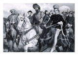The Knight, from 'Canterbury Tales' by Geoffrey Chaucer Giclee Print by Paul Rainer