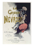 Cover of 'La Grande Nevrose' by Dr. Joseph Gerard, Published in Paris, 1899 Giclée-Druck von Roy