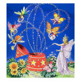 Fairy Candle, Illustration from 'Teddy Bear', 1968 Giclee Print by Jesus Blasco