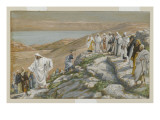 Ordaining of the Twelve Apostles, Illustration from 'The Life of Our Lord Jesus Christ' Giclee Print by James Jacques Joseph Tissot