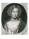 Portrait of Marie Angelique De Scoraille, Duchesse De Fontanges Giclee Print by Pierre Mignard