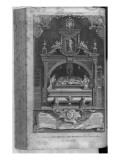 The Monument to Henry Ii and Richard I in Fontevrault Abbey, Engraved by John Goldar, 1786 Giclee Print by Hubert Gravelot
