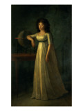 Donna Joaquina Tellez-Giron, Daughter of the Duke and Duchess of Osuna, 1798 Giclee Print by Esteve 