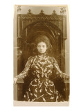 Portrait of the Actress Vera Komissarzhevskaya Giclee Print by  Russian Photographer