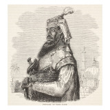 Portrait of Nana Sahib, Illustration from &#39;Cassell&#39;s Illustrated History of England&#39; Giclee Print by English School 