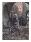 Peter Went Out and Wept Bitterly, Illustration for 'The Life of Christ', C.1886-94 Giclee Print by James Jacques Joseph Tissot