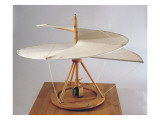 Model Reconstruction of Da Vinci's Design for an Aerial Screw Giclée-Druck von Leonardo da Vinci