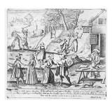 A New Year&#39;s Gift for Shrews, Pub. by Edward Lee, C.1620 Gicl&#233;e-Druck von C. Terill