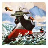 Ice-Breaker of the Future, Conceived in 1976 Giclee Print by Wilf Hardy