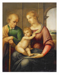 The Holy Family, or Madonna with the Beardless Joseph, C.1506 Reproduction procédé giclée par  Raphael
