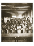 Cooks in a Large Camp Mess Hall During the American Civil War Giclee Print by Mathew Brady