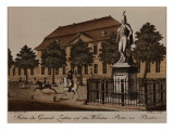 Statue of General Von Ziethen in Wilhelm Platz, Berlin Giclee Print by  German School