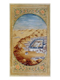 Supplement Persan 1389 Fol.39 the Tomb of the Prophet at Medina Giclee Print by Persian School