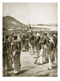 The Cession of Hong Kong to the British, 1841 Giclee Print by Richard Caton Woodville II