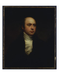 Portrait of Sir Francis Chantrey, in a Dark Jacket and White Cravat Premium Giclee Print by Sir Henry Raeburn