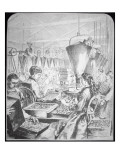 Women Working in Munitions Factory, Bridgeport, Conneticut Giclee Print by  American School