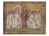 The Incredulity of St. Thomas, from Scenes from the Life of Christ Giclee Print by  Byzantine School