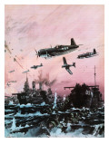 American Offensive in the Pacific During World War Ii Giclee Print by Graham Coton