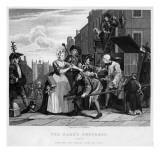 Arrested for Debt, Plate V from 'A Rake's Progress' Giclee Print by William Hogarth