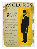 Poster Advertising the February Edition of Mcclure's Magazine Giclee Print by  American School
